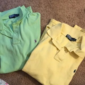 Polo by Ralph Lauren polo shirts. Bundle of 2